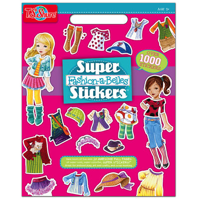 Super Fashion-A-Belles Stickers Activity Book