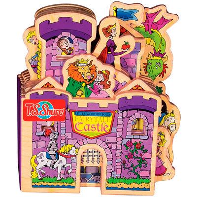 Little Wooden Book Fairytale Castle Activity Book