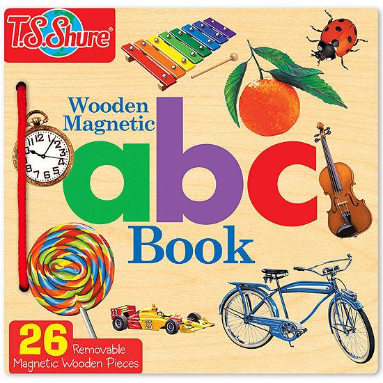 Abc Wooden Activity Book