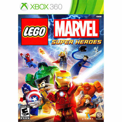 Lego Marvel Super Heroes Video Game-XBox 360