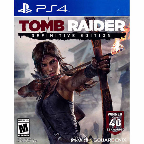 Tomb Raider Definitive Edition Video Game-Playstation 4