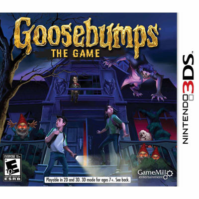 Goosebumps The Game Video Game-Nintendo 3DS