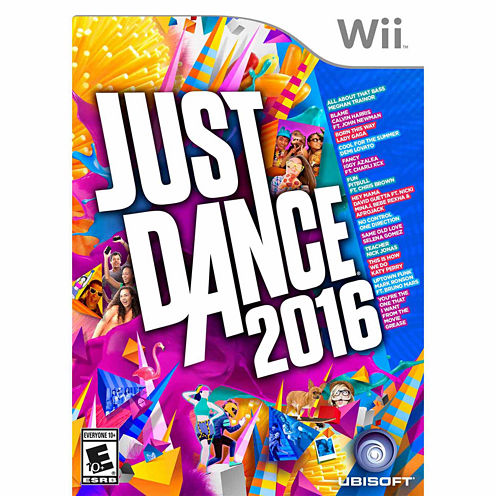 Just Dance 2016 Video Game-Wii