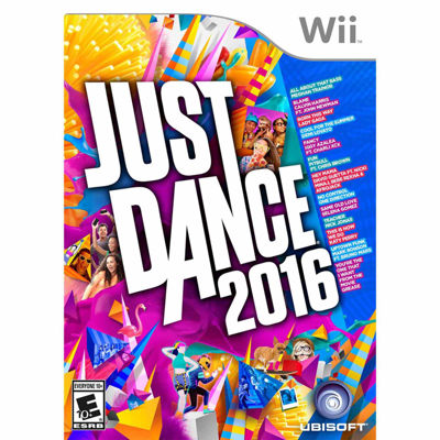 Wii Just Dance 2016 Video Game