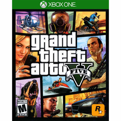 Grand Theft Auto V Video Game-XBox One