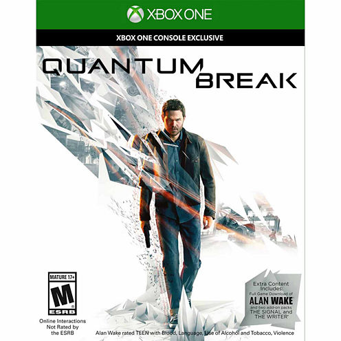 Quantum Break Video Game-XBox One