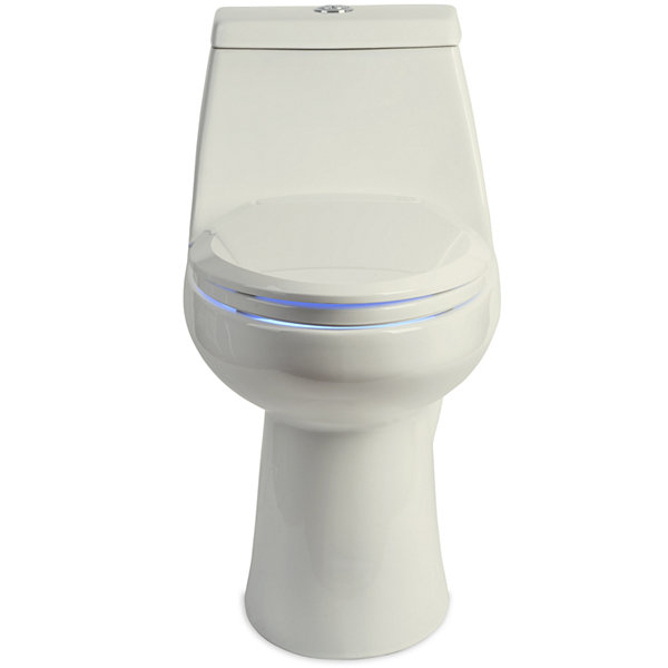 Brondell LumaWarm Heated Nightlight Round Toilet Seat