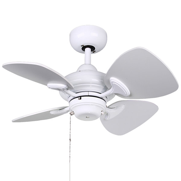 24in White Indoor Ceiling Fan