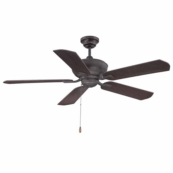 52in Bronze Gold Indoor Ceiling Fan