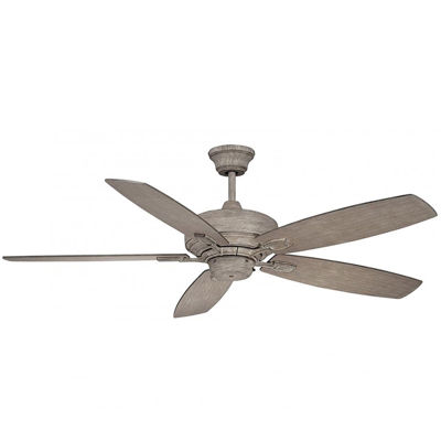 52in Aged Wood Indoor Ceiling Fan