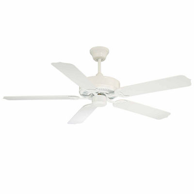 52in White Indoor Ceiling Fan