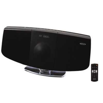 Jensen JBS-350 Wall Mountable Bluetooth Music System with CD Player and FM Radio
