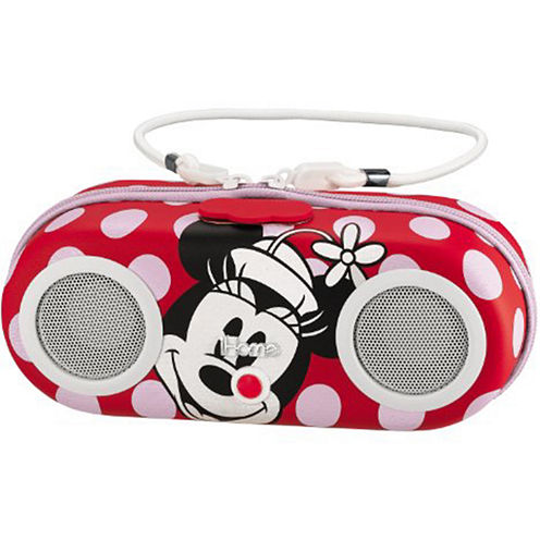 Kiddesigns EK-DM-M13 Minnie Mouse Portable Water Resistant Speaker