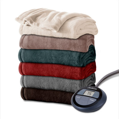 Sunbeam Heated Microplush Electric Blanket