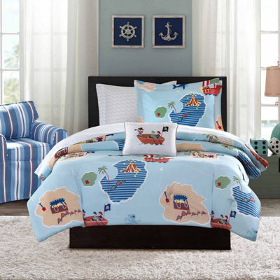 Mi Zone Pirates Complete Bedding Set with Sheets