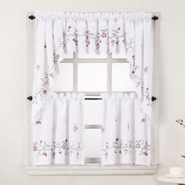 jcpenney.com | Charlene Rod-Pocket Kitchen Curtains