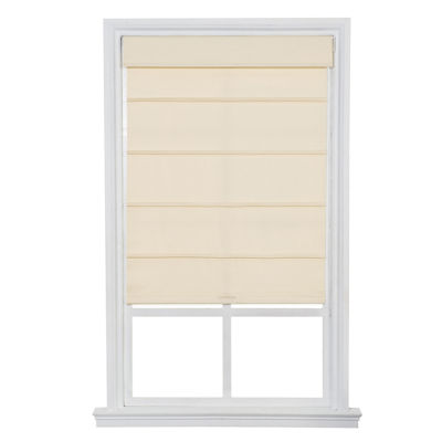 JCPenney Home™ Cordless Cotton Twill Roller Roman Shades