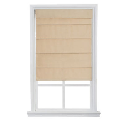 JCPenney Home Cordless Fauxsilk Roller Roman Shades
