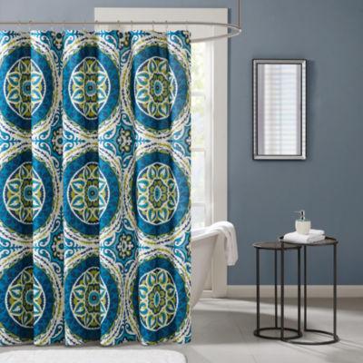 Madison Park Odisha Printed Shower Curtain