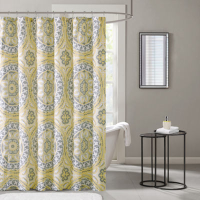 Madison Park Savanah Printed Shower Curtain