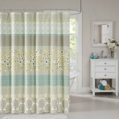 Madison Park Felicity Cotton Shower Curtain