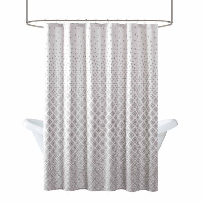 Madison Park Pensacola Jacquard Shower Curtain
