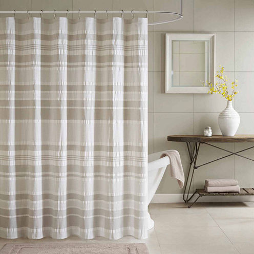 INK+IVY Lakeside Cotton Shower Curtain