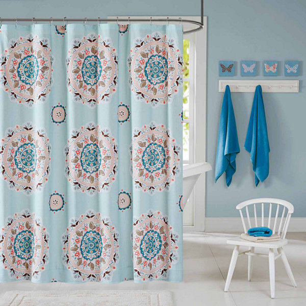 INK+IVY Hana  Shower Curtain