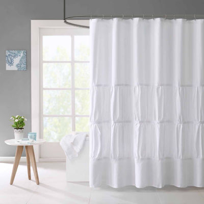 Mi Zone Tatiana Microfiber Shower Curtain