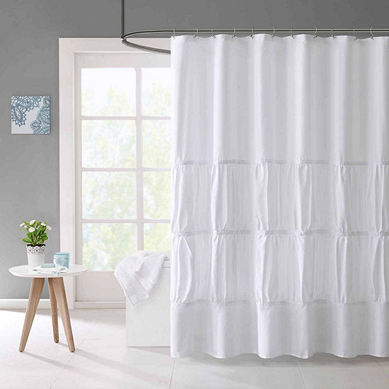 Mi Zone Tatiana Microfiber Shower Curtain