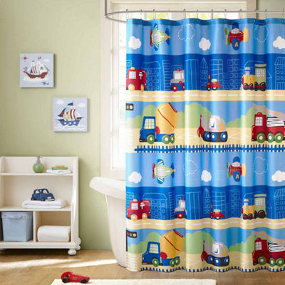 Mi Zone Truck Zone Shower Curtain