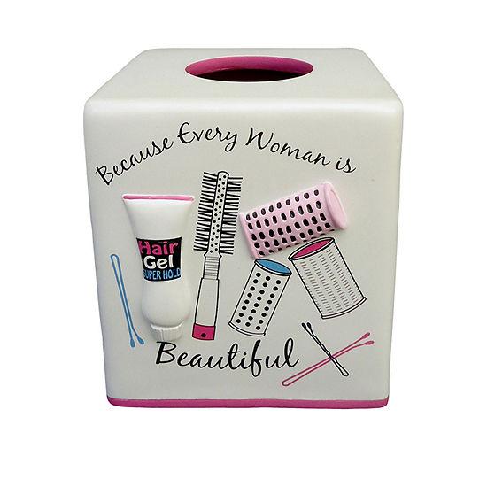 Hair Salon Tissue Box Cover