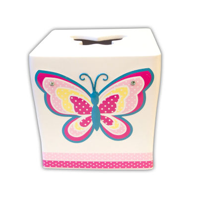 Butterfly Dots Tissue Box Cover
