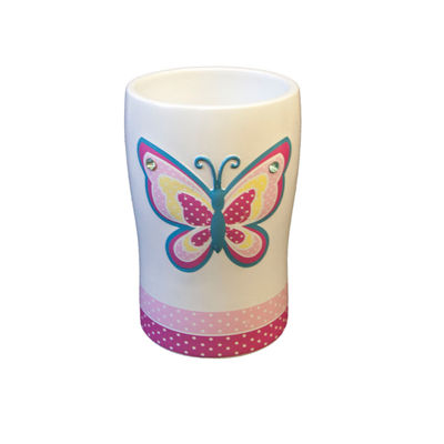 Butterfly Dots Tumbler
