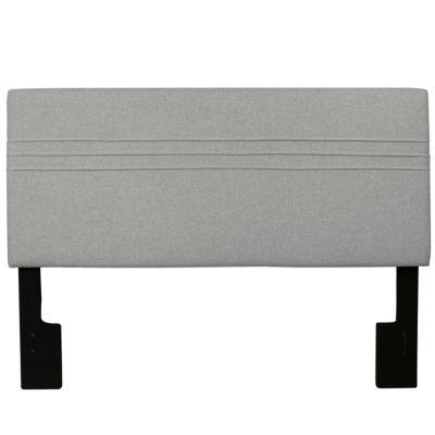Home Meridian Upholstered Silver Headboard