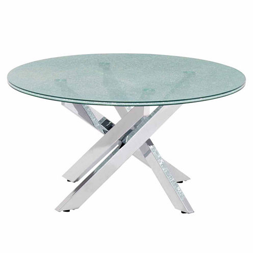Zuo Modern Stance Crackled Coffee Table