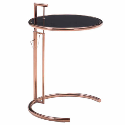 Eileen Grey Rose Gold End Table