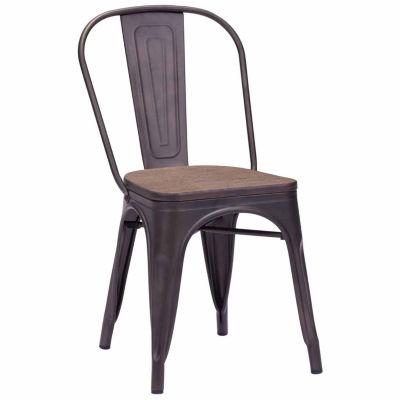 Elio Elm Wood 2-pc. Side Chair