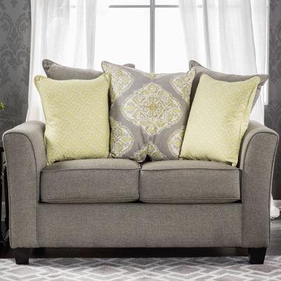 Sylie Fabric Track-Arm Sofa
