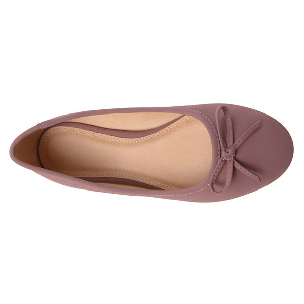 Journee Collection Conlin Womens Ballet Flats-Wide