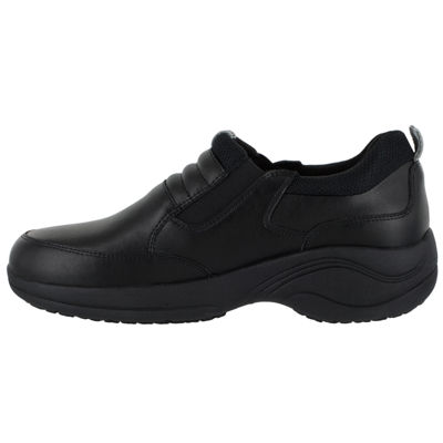 Easy Works By Easy Street Magna Womens Clogs Elastic Round Toe