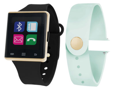 Itouch Air Interchangeable Band Set Black / Mint Unisex Multicolor Smart Watch-Jcp2724g724-Blm
