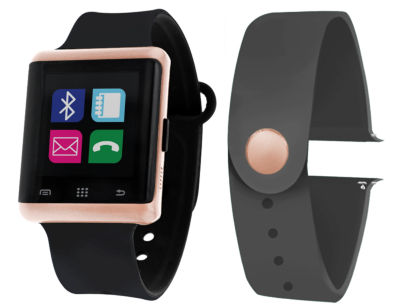 Itouch Air Air Activity Tracker & Interchangeable Band Set Black/Grey Unisex Multicolor Smart Watch-Jcp5551rg724-Bdg