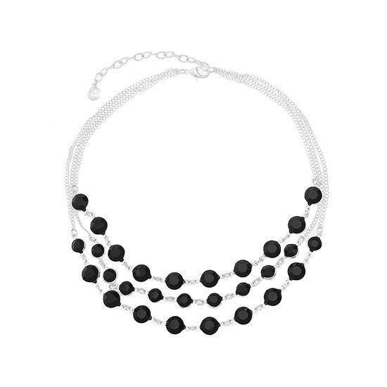 6b57463a7a2a8 Gloria Vanderbilt Womens Round Collar Necklace - JCPenney