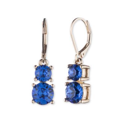 Gloria Vanderbilt Round Drop Earrings