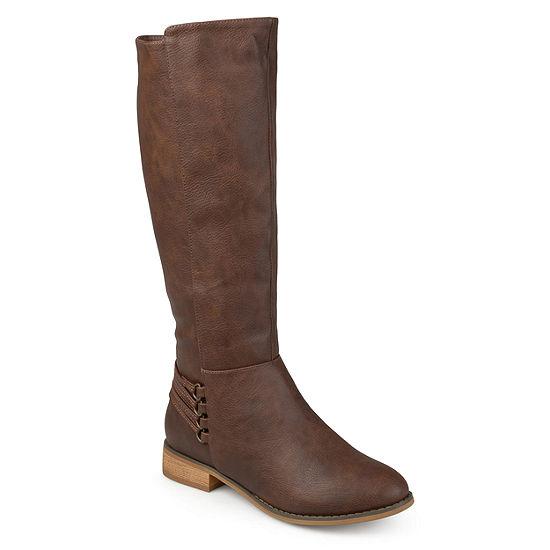 Journee Collection Womens Marcel Riding Boots Block Heel