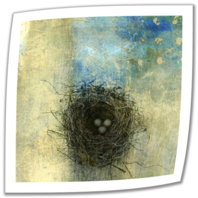 Brushstone Bird Nest Canvas Wall Art