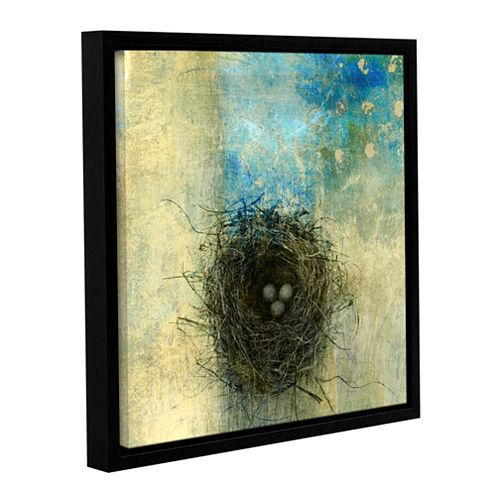 Brushstone Bird Nest Gallery Wrapped Floater-Framed Canvas Wall Art