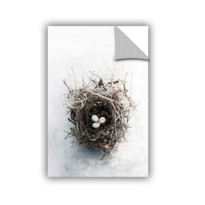 Brushstone Bird Nest Removable Wall Decal - Speckled Eggs