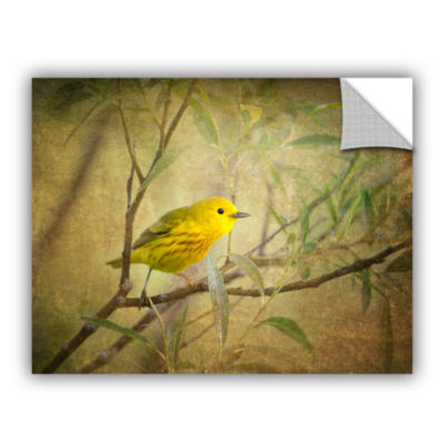 Brushstone Bird On Branch Removable Wall Decal
